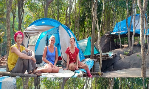 hill top camping and tre in wayanad
